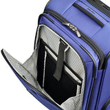 Delsey Luggage Cruise Lite Softside Carry-on Exp. Spinner Suiter Trolley, Blue