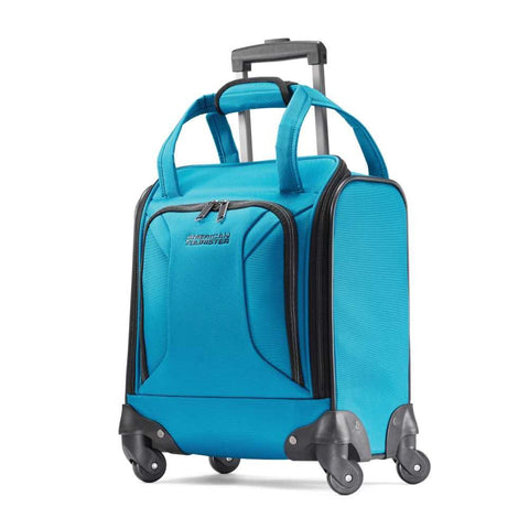 American Tourister Spinner Tote, Teal Blue