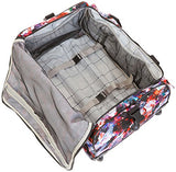 Kipling Discover Small Wheeled Duffle Wild Flower