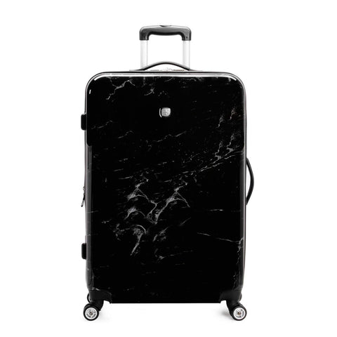 SWISSGEAR 7579 Expandable Hardside Luggage, 28-Inches - Black Marble