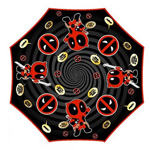 Marvel'S Deadpool - Liquid Reactive Umbrella 36 X 21In