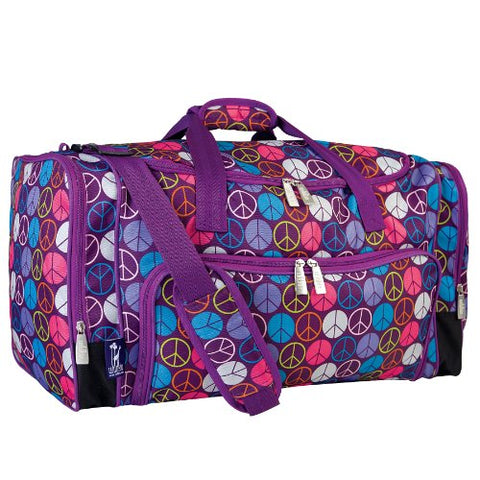 Wildkin Peace Signs Weekender Duffel