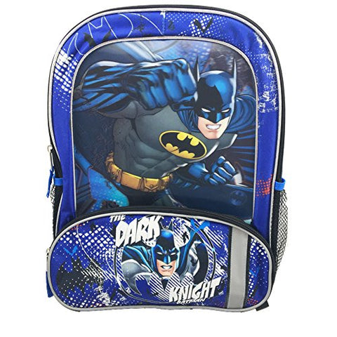 Fast Forward NY Dark Knight Batman Back to School Backpack