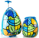 Heys America Unisex Britto Kids Luggage with Backpack Frog One Size