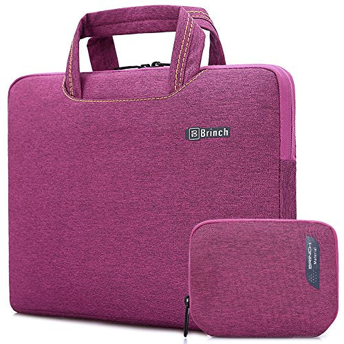 Brinch 15, 15.6-Inch Waterproof Laptop Case Bag with Handle for Apple Macbook, Chromebook, Acer,