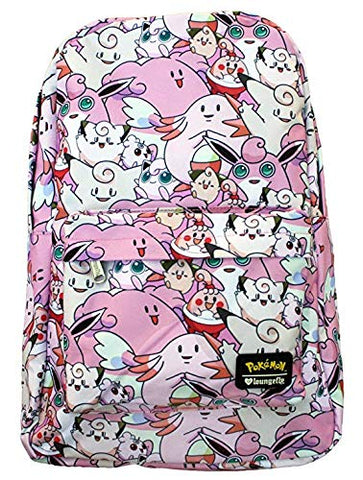 Loungefly Pokemon Pink Backpack