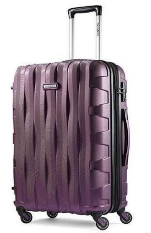 "Samsonite Ziplite 3.0, 24"", Hardside Spinner Luggage... (Purple)"