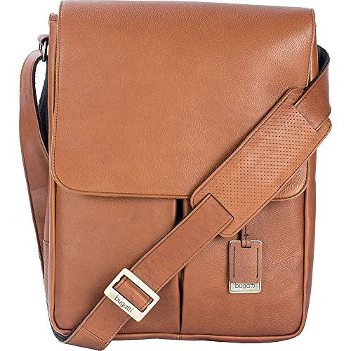 Bugatti Soledad Messenger Bag Leather (Cognac)