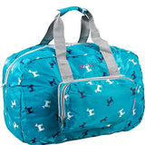 J World New York Buena Folding Duffel Bag, Puppy