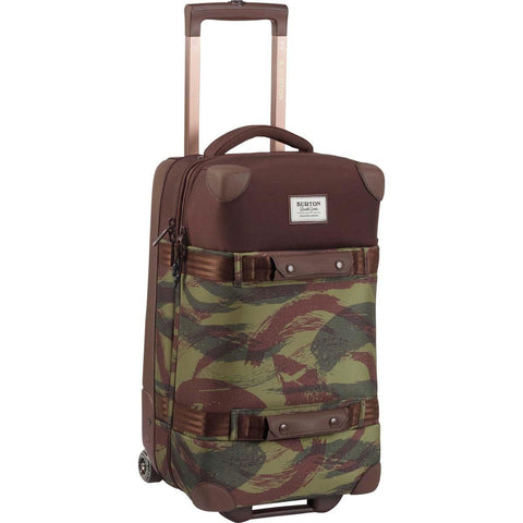 Burton Wheelie Flight Deck Travel Bag, Brushstroke Camo