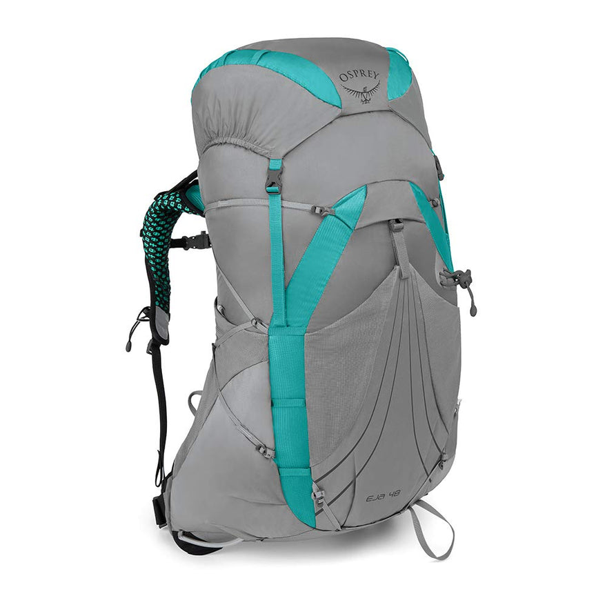 Osprey Packs Eja 48 Women's Backpacking Pack, Moonglade Grey, Small