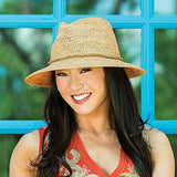 Wallaroo W Collection - Malibu - Raffia Hat - Adjustable Fit