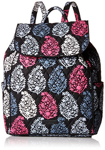 Vera Bradley Women'S Drawstring Backpack, Northern Lights