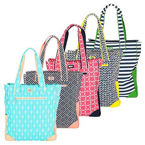 Ame & Lulu Women's Tennis Tote Bag-Cabana