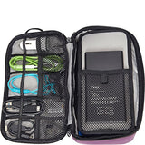 eBags Large Cord Packing Cube - Cable Organizer Bag - (Eggplant)
