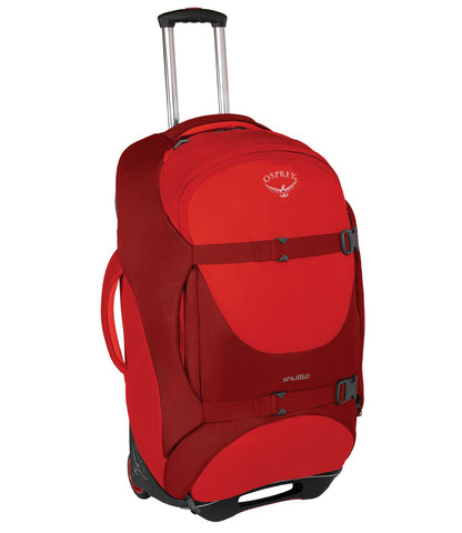 "Osprey Shuttle 30""/100L Wheeled Luggage, Diablo Red"