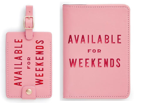 Bando Passport Holder with Luggage Tag Available for Weekends