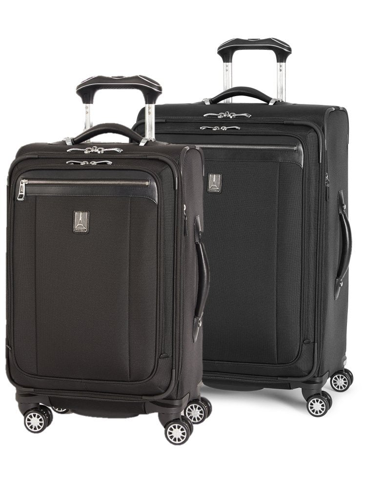"Travelpro Platinum Magna 2 2-Piece Express Spinner Suiter Luggage Set: 25"" and 21"" (Black)"