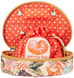 Sydney Love Seashell Jewelry Cosmetic Case,Multi,One Size