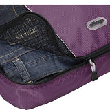 eBags Packing Cubes for Travel - 3pc Set - (Eggplant)