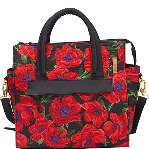 Donna Sharp Rachel Shoulder Bag (Red Poppy)