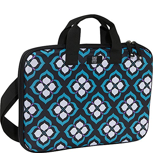 "Nuo Chloe Dao 15.6"" Slim Laptop Brief (Blue Lotus)"