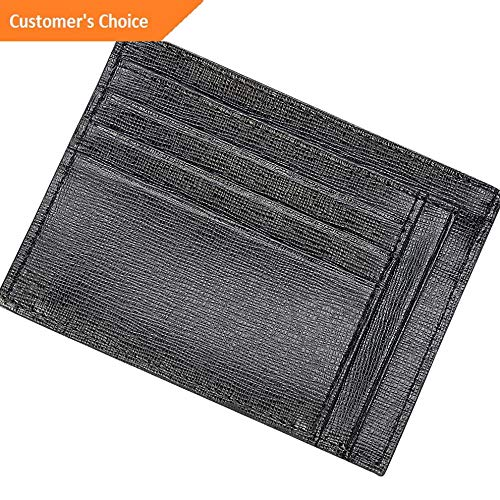 Sandover Royce Leather RFID Blocking Slim Card Case Wallet Mens Wallet NEW | Model LGGG - 10570 |