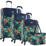 Tommy Bahama St Kitts 4 Piece Luggage Set, Printed Floral