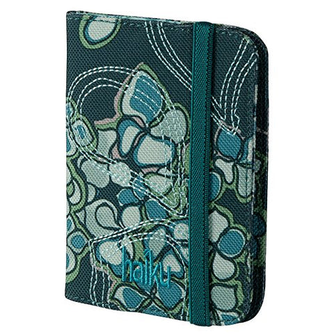 Haiku Women's Trek RFID Eco Passport Case, Balsam Green