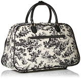 World Traveler 21-Inch Carry-On Shoulder Tote Duffel Bag, Countryside White, One Size