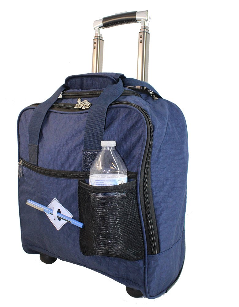 New BoardingBlue Allegiant Air Rolling Free Personal item Under Seat (Navy)