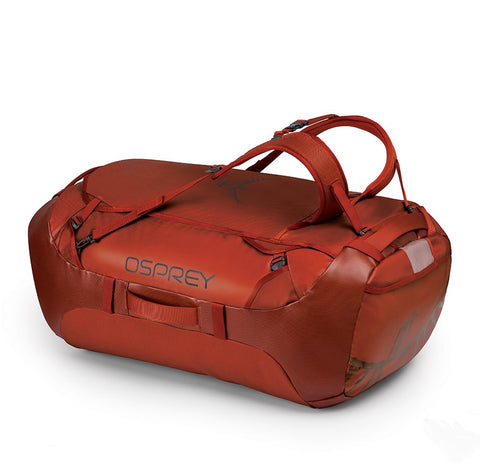 Osprey Packs Transporter 130 Expedition Duffel, Ruffian Red, One Size