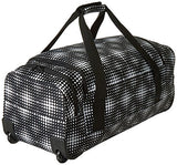 Roxy Women's Distance Accross Wheeled Duffle Bag, Anthracite Opticity