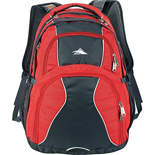 "High Sierra® Swerve 17"" Laptop Computer Backpack - Red"