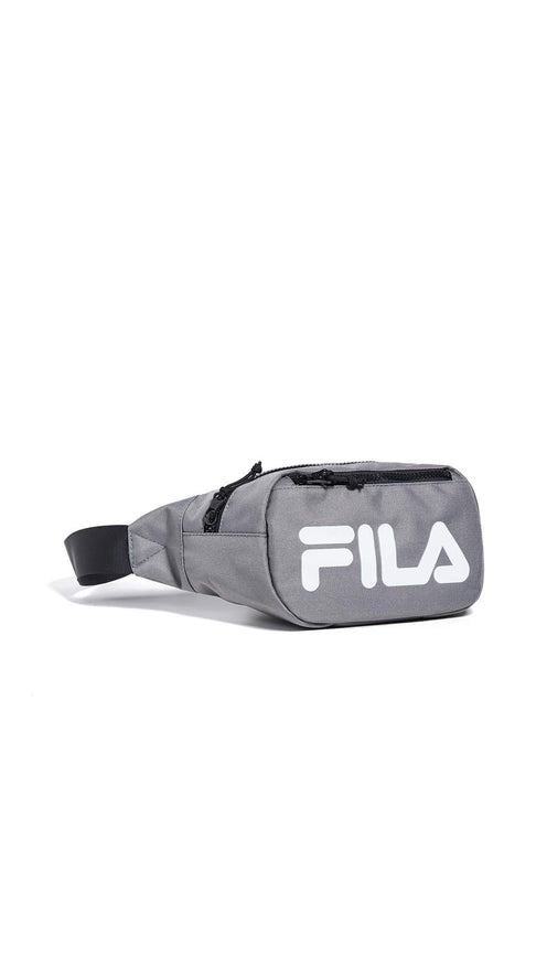 Fila Women's Hunter Waist Bag, Charcoal, Grey, Graphic, One Size