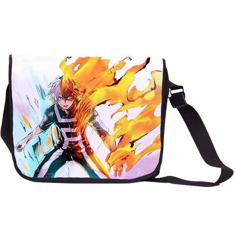 Siawasey Anime My Hero Academia Cosplay Midoriya Izuku Messenger Bag Crossbody Handbag Satchel Backpack Shoulder Bag