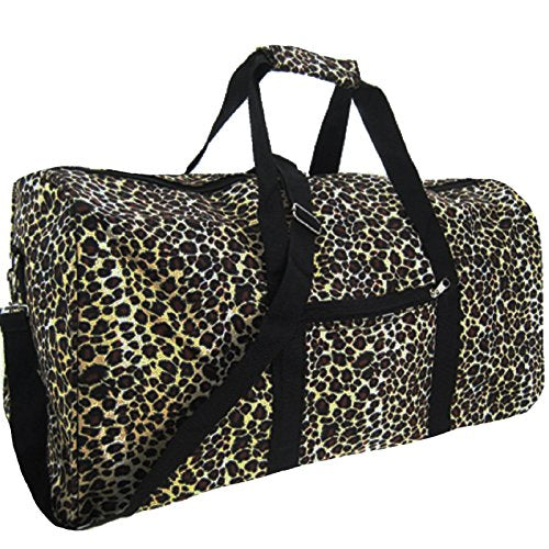 World Traveler 22 Inch Duffle Bag, Leopard, One Size