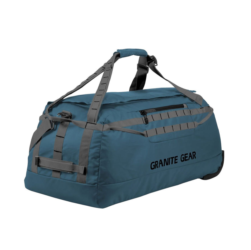 "Granite Gear 30"" Wheeled Packable Duffel - Basalt/Flint"