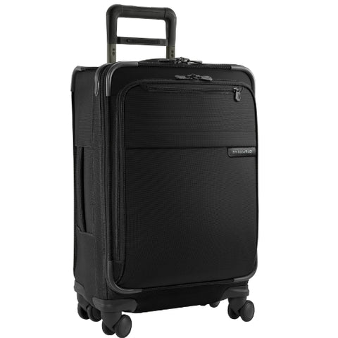 Briggs & Riley @ Baseline Luggage Baseline Domestic Carry-On Spinner Bag, Black, Medium