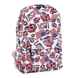 Damara National Flag Print Backpack