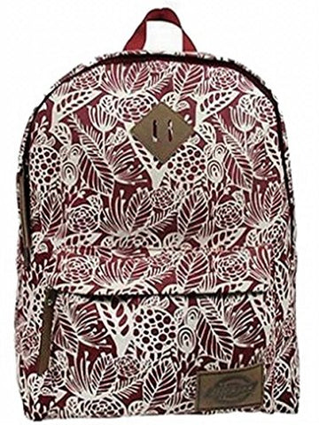 Dickies The Classic Backpack, Scarlet Red Big Flora