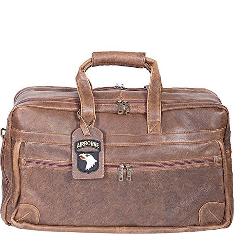 Scully Squadron Duffel (Antique Brown)