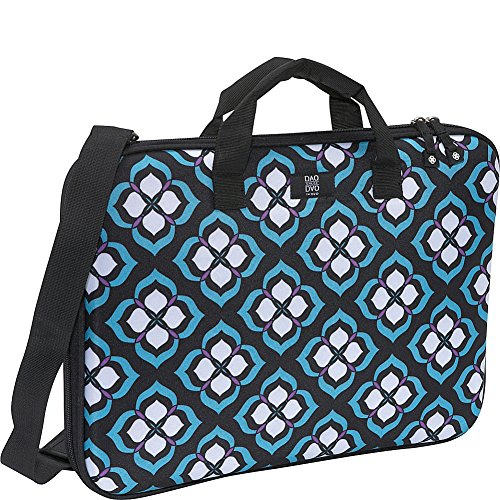 "Nuo Chloe Dao 17"" Slim Laptop Brief (Blue Lotus)"