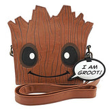 Loungefly Marvel Guardians of The Galaxy Groot Crossbody Bag Standard