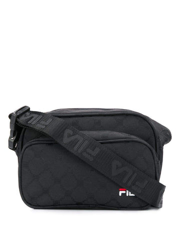 Luxury Fashion | Fila Mens 685087002 Black Messenger Bag | Fall Winter 19