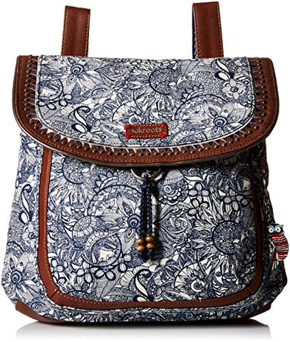 Sakroots Convertible Backpack, Navy Spirit Desert