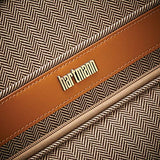 Hartmann Herringbone Deluxe Medium Journey Expandable Spinner, Terracotta