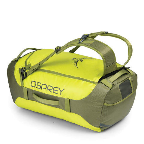Osprey Packs Transporter 65 Expedition Duffel, Sub Lime, One Size