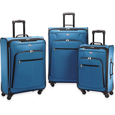 American Tourister AT POP PLUS 3 Piece Spinner Luggage Set