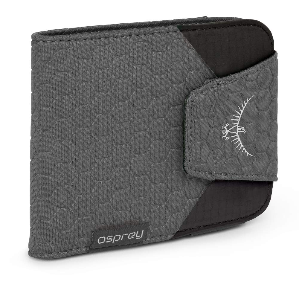 Osprey Packs QuickLock RFID Wallet, Shadow Grey, One Size